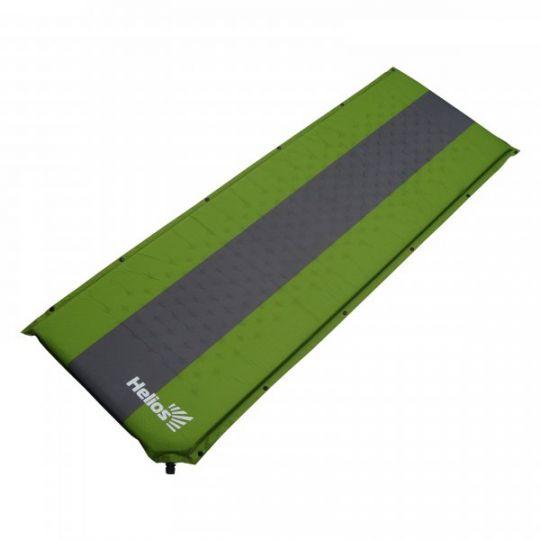 Коврик HELIOS самонадувающийся 190х65х5 (HS--005) зеленый