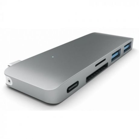 USB-хаб Satechi Combo Hub 3 in 1 USB Type-C B019PHF9UY (Space Grey)