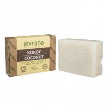 """""""Кокос"""", натуральное мыло ручной работы, 100 гр"""