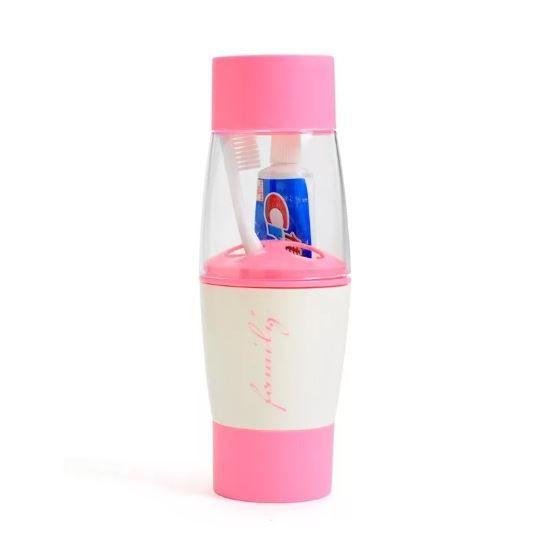 Стаканчик Для Хранения Зубной Щётки Single Family, Цвет Розовый