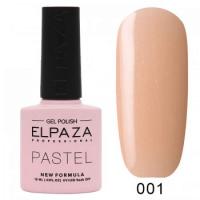 Elpaza гель-лак, Pastel 001, 10 ml