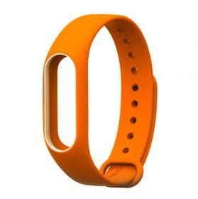Ремешок для браслета Xiaomi Mi Band 3 оранжевый
