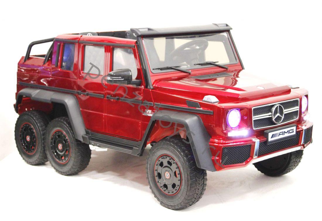Электромобиль детский Mercedes-Benz G63-AMG 4WD X555XX ЛИЦЕНЗИЯ