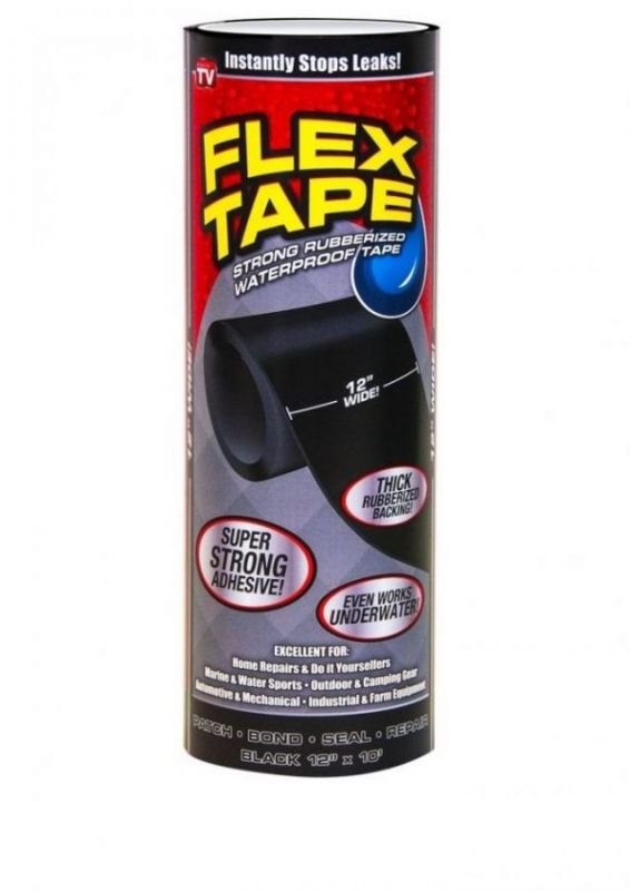 Сверхсильная клейкая лента Flex Tape, 25х300 см