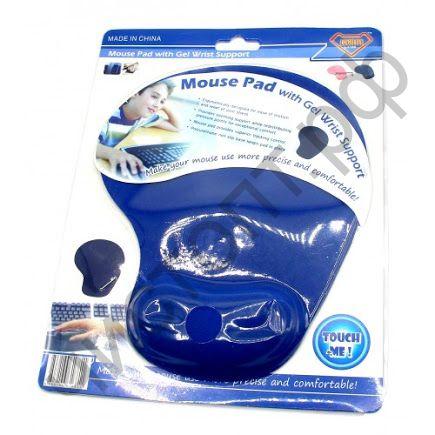 Коврик для мыши гелевый 1108A (с гелевой подушкой под запястье)