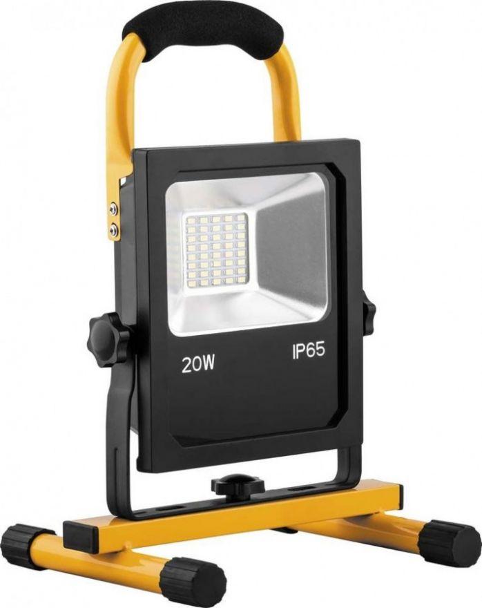 Feron Прожектор св/д переносной с зарядным устройством 20W, 6400K, 40*SMD5730, IP65, LL-912 32088