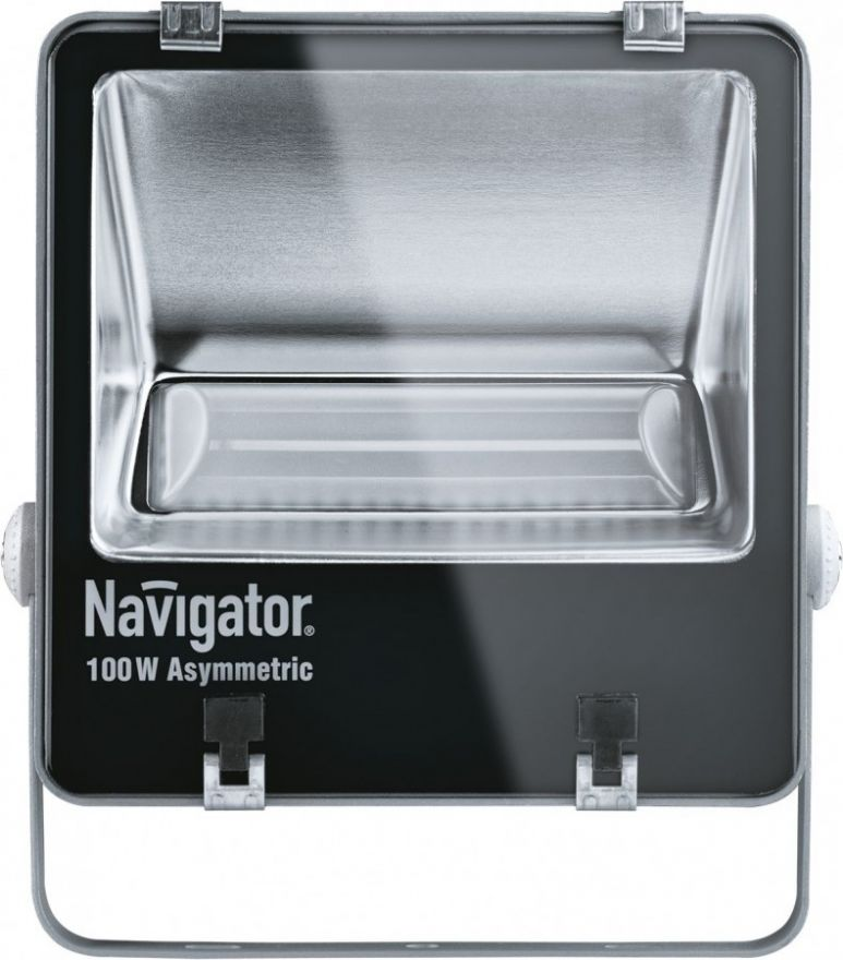 Navigator прожектор св/д 100W(7200lm)ассим 5000 IP65 296x258x95 сер. NFL-AM-100-5K-GR-IP65-LED 94748