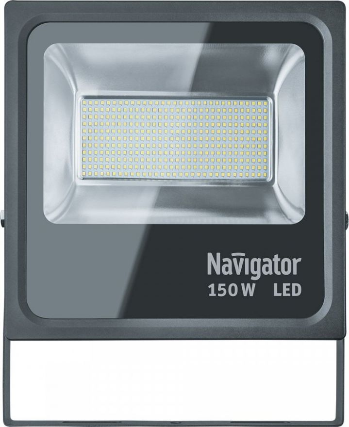 Navigator прожектор св/д 150W (14000lm) 5000K 320х405х70 NFL-M-150-5K-BL-IP65-LED 14013