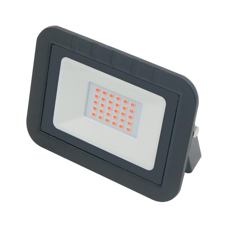 Volpe прожектор св/д RGB 10W(R70lm/G200lm/B60lm) 220-240V металл/черный ULF-Q511 10W/RGB IP65