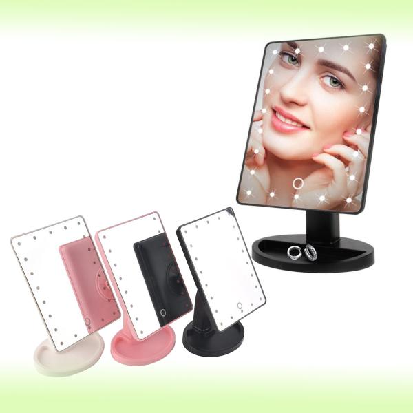 Зеркало с подсветкой Large LED Mirror 27 х 16,5 см