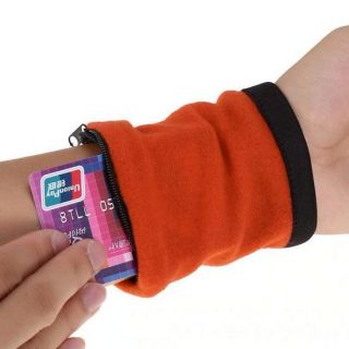 Браслет-кошелек на запястье Wirst Wellets (Вирст Валлетс), Цвет: Оранжевый