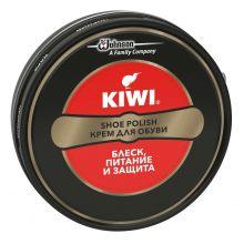 """""""Kiwi"""". Крем в банке. Чёрный. /12/"""
