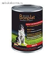 Консервы для собак Bonplat Мясо
