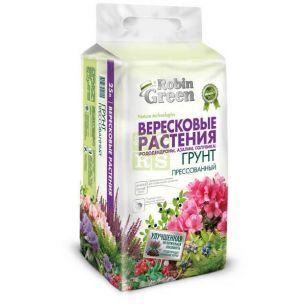 Грунт для вересковых растений прессованный 25л Робин Грин - все для сада, дома и огорода!