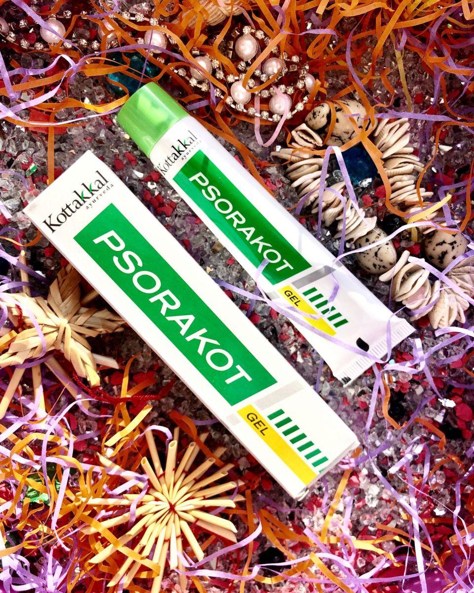 Псоракот, гель от псориаза и других заболеваний кожи, 25 г Psorakot gel