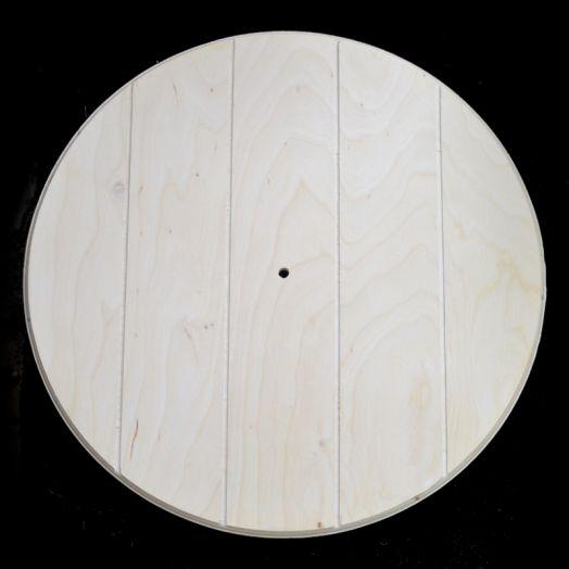 Заготовка для часов Круг с прорезями, диаметр 40 см