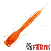 Мягкие приманки Fanatik X-Larva 4'' 100 мм / упаковка 5 шт / цвет: 009