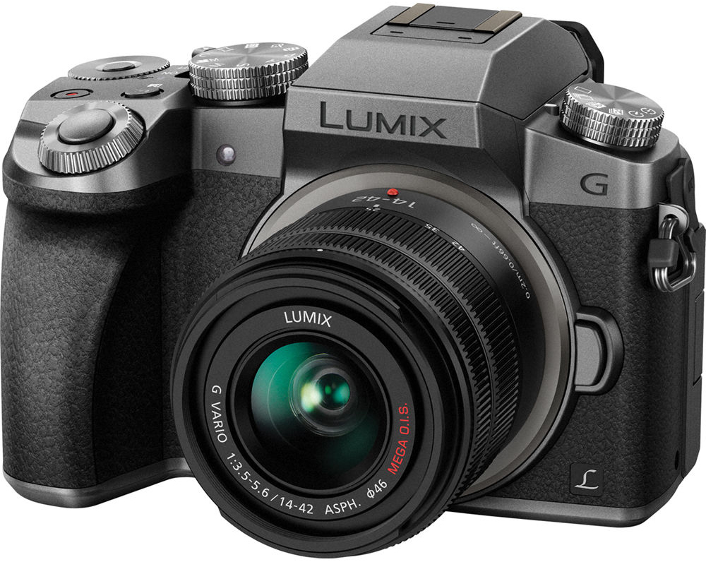 Panasonic DMC-G7 Lumix Kit 14-42 mm f/3.5-5.6 Black