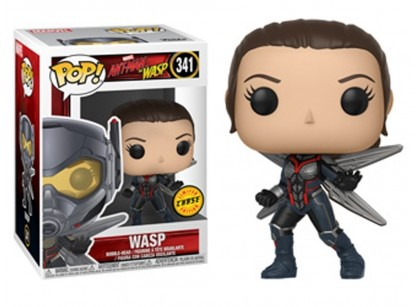 Фигурка Funko POP! Bobble: Marvel: Ant-Man & The Wasp: Wasp w/Chase (без маски)  30730