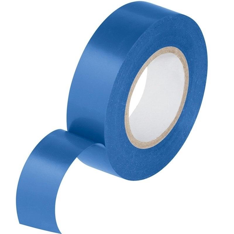 Изоляционная лента ПВХ 0,13х15 мм,17 м (упаковка 5 шт), цвет синий