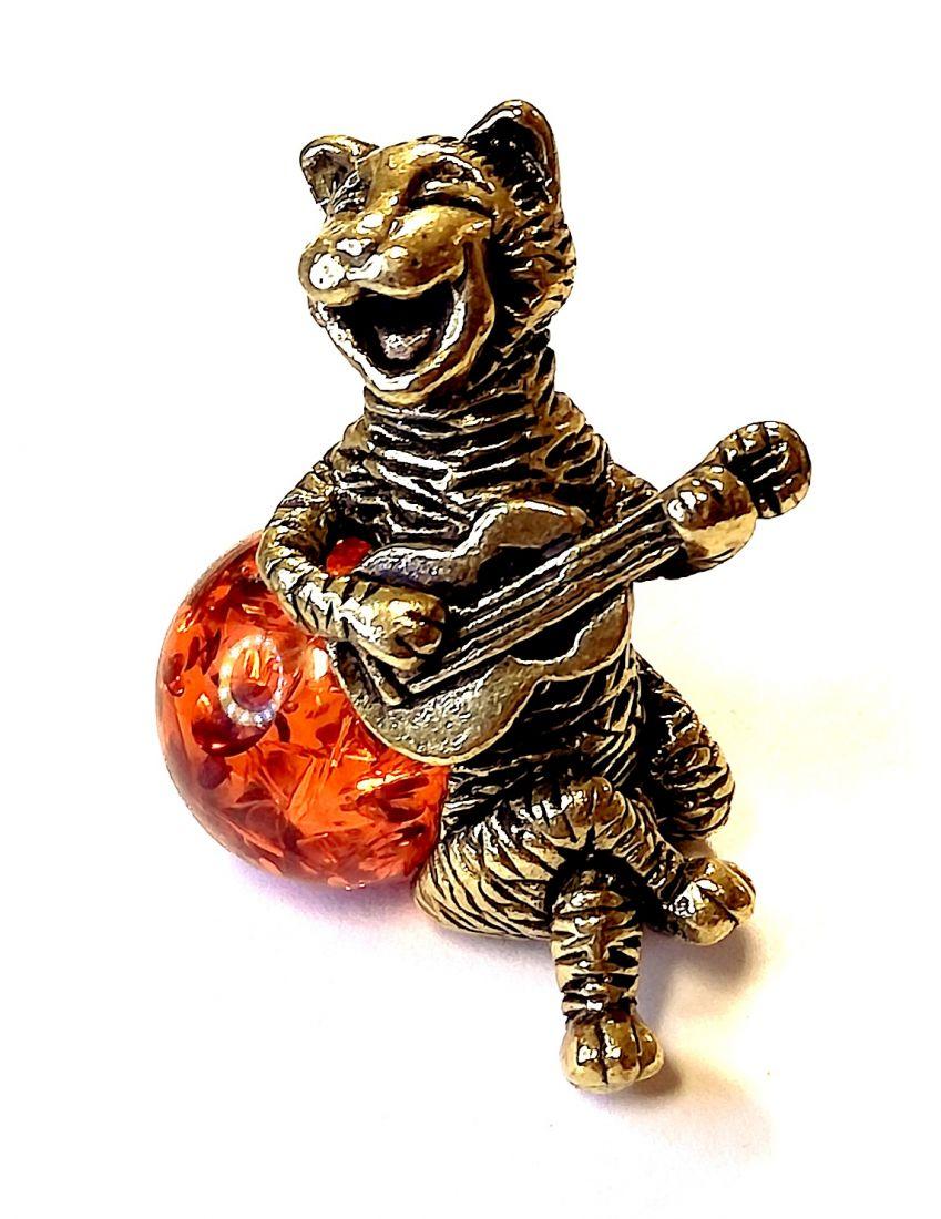 Фигурка Кот с гитарой