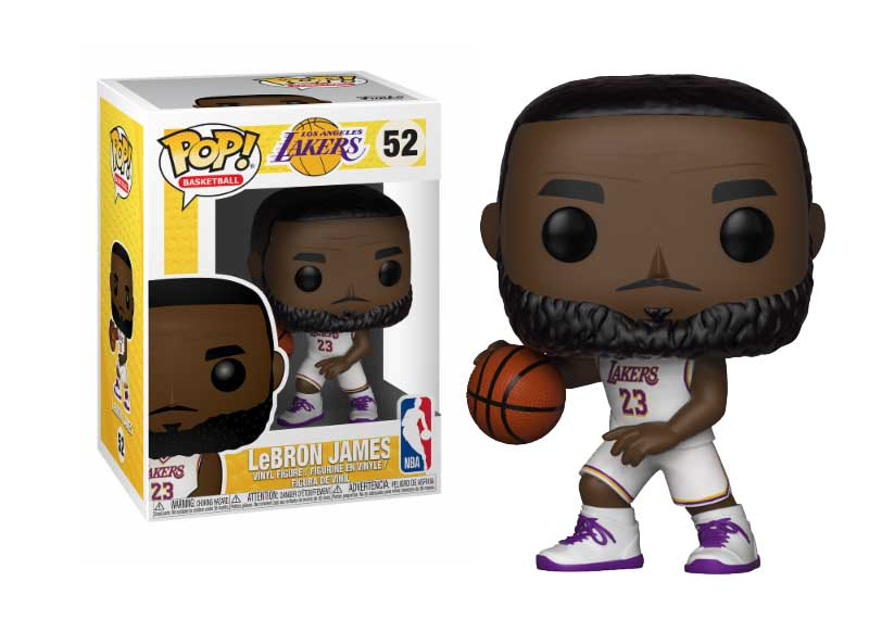 Фигурка Funko POP! Vinyl: NBA: Lakers: Lebron James (White Uniform) 37271