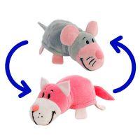 Игрушка-Перевертыш 2в1 Мышка-Кот