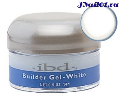 IBD Builder Gel Clear 14 гр белый