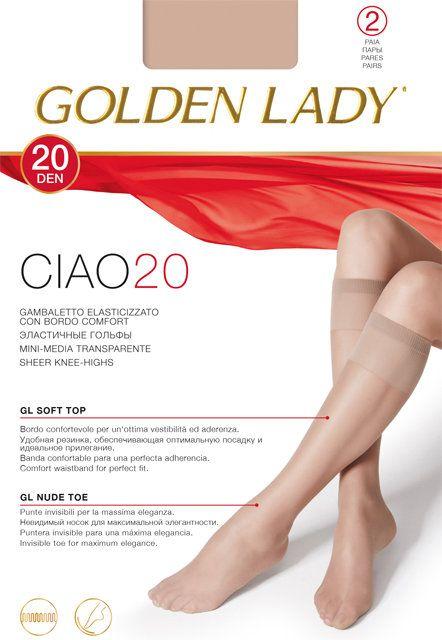 носки GOLDEN LADY Ciao 20