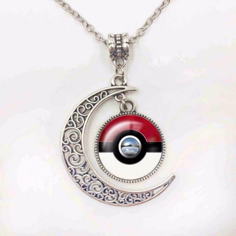 Кулон-подвеска Pokemon Pokeball Луна