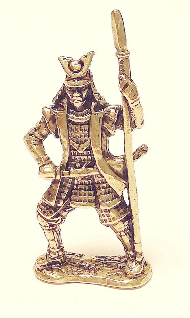 Фигурка Самурай с копьем