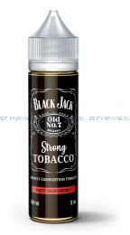 "Е-жидкость Black jack ""Strong tobacco"", 60 мл."