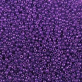 Бисер чешский 17828 фиолетовый непрозрачный Preciosa 1 сорт