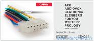 Carav 15-011 (AEG/Mystery/Prology/Elenberg 14-Pin)