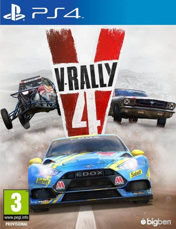 Игра V-Rally 4 (PS4)