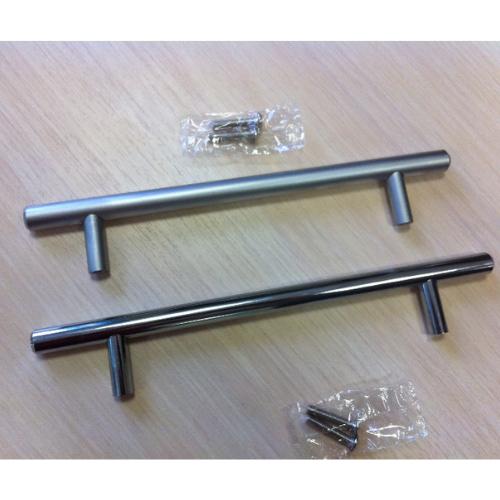 Ручка рейлинг D10 мм центр 160 общий 220, матовый хром