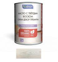 Масло для дерева с твёрдым воском Сигма-Декор Премиум, цвет: белый, 1 л