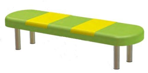 Мягкая банкетка «Мальвина» (на мет. ножках)