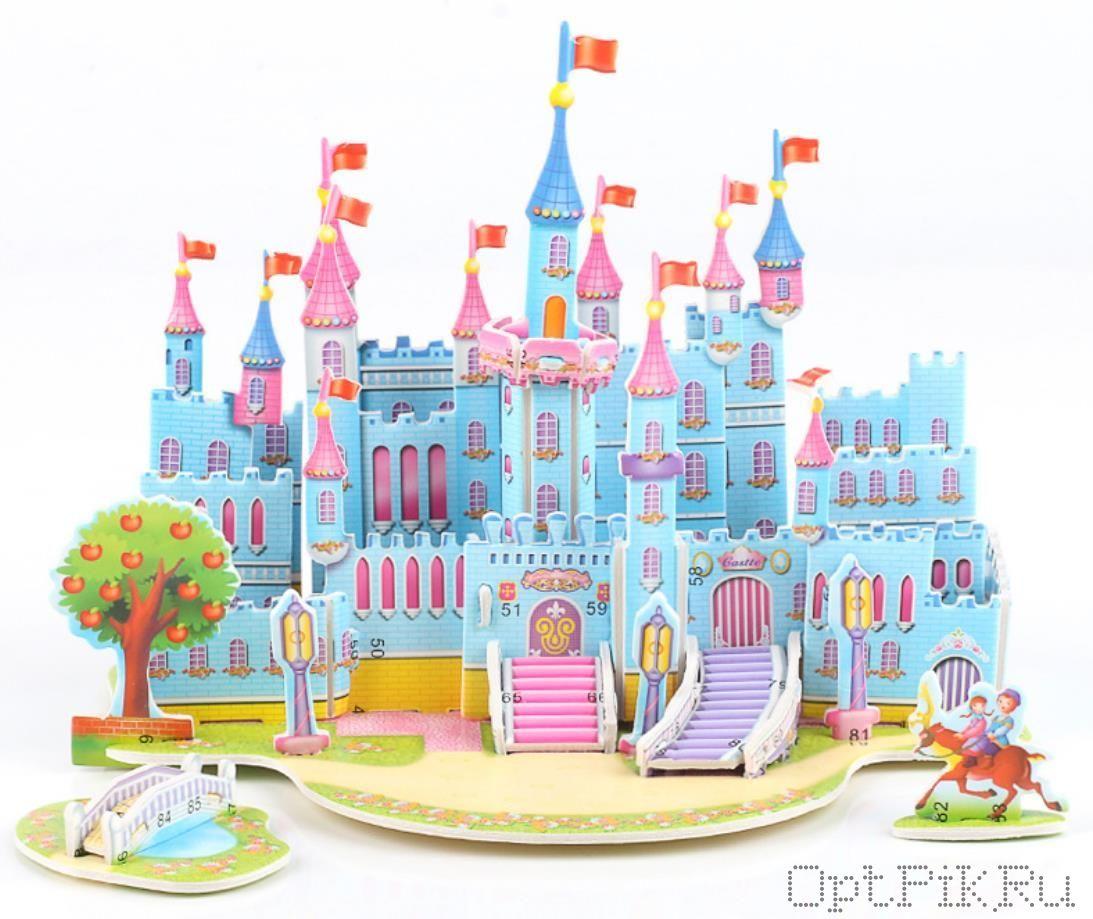 "3D пазл ""Замок"""