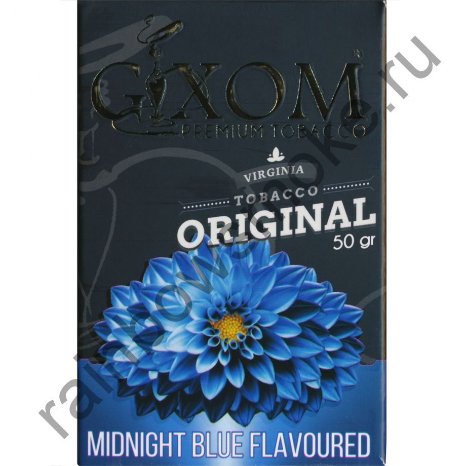 Gixom Original series 50 гр - Midnight Blue (Голубая Полночь)