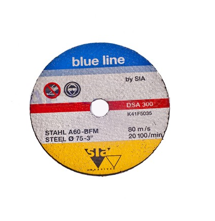 Sia SIACUT BL отрезной диск 75/10/1мм. по металлу, (упаковка 5 шт.)