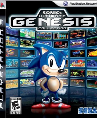 Игра Sonic Ultimate Genesis Collection (PS3)