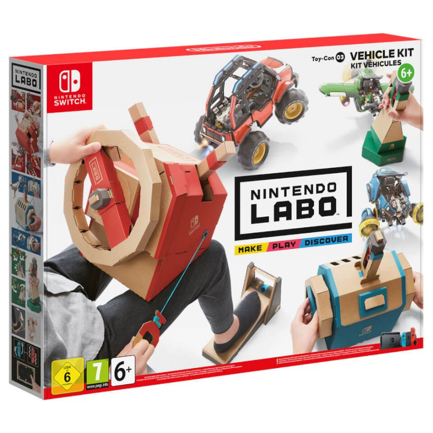 Nintendo Labo : Набор <<Транспорт>> Labo Vehicle Kit (Nintendo Switch)