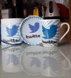Кружка twitter в подарочной коробкеКружка twitter в подарочной коробке