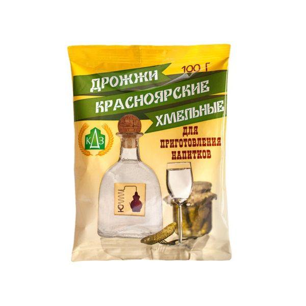 Дрожжи сухие Красноярские Хмельные 100 гр