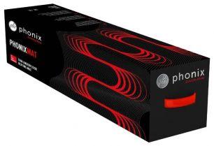 Нагревательный мат PHONIX 10,0м2 , 1500 Вт.  PHONIXMAT 0,5 x 20,0 м   (Германия)