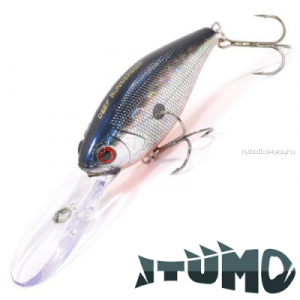 Воблер Itumo Deep Runner 600F 60мм / 28,7 гр / цвет: 01