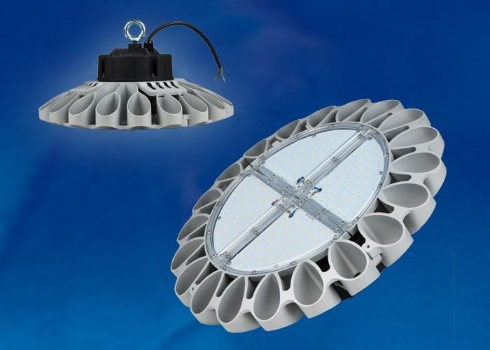 Светильник промышленный Uniel ULY-U30B-100W/NW IP65 SILVER