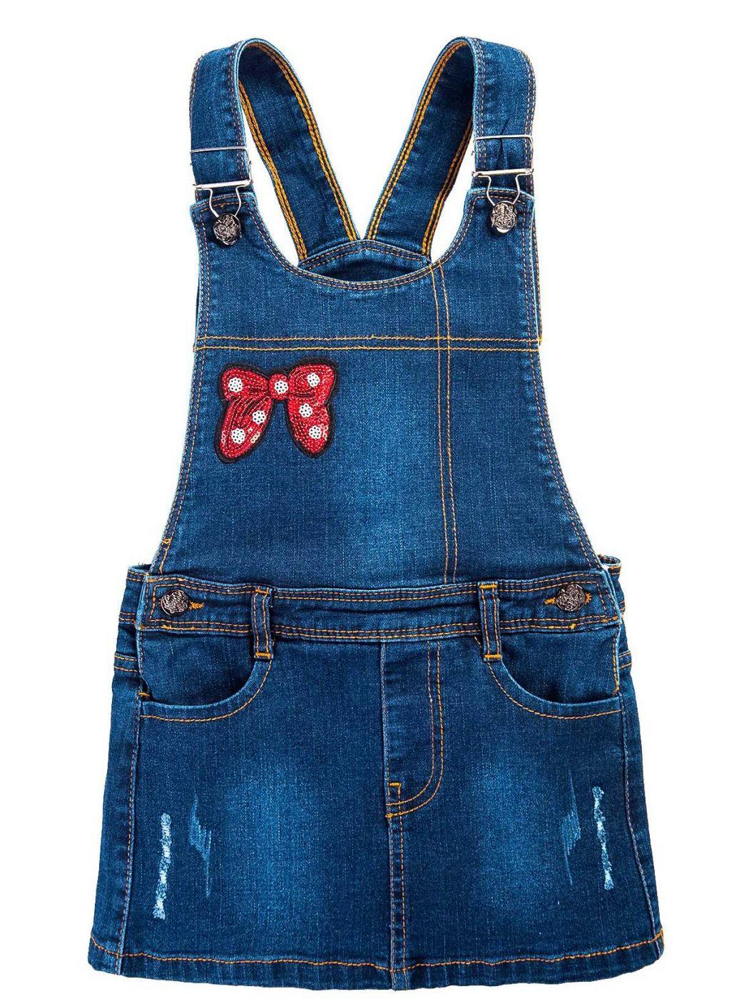 Сарафан джинсовый для девочки 3-7 лет Bonito BJ742C