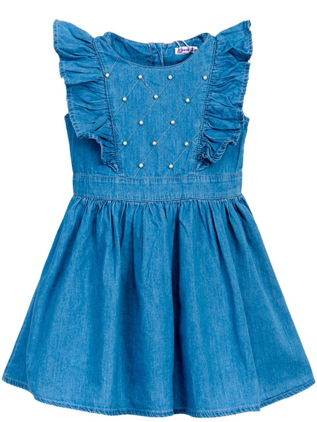 Джинсовое платьице для девочек 2-5 лет BONITO BJ700P